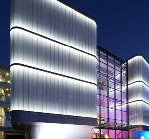build landscape application of led area flood light