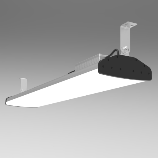 120~277V 200W 4 foot LED High Bay fixture | TUBU