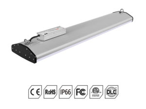 dlc ul 1598 listed led linear high bay fixtures