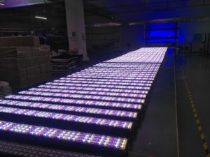 LED Linear High Bay assembly process