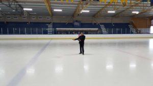 linear led high bay in Sweden for Hockey field