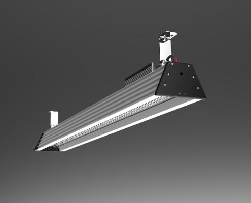 1.5m 5ft 200W UGR19 Anti-glare LED TBay Fixtures IP65 | TUBU
