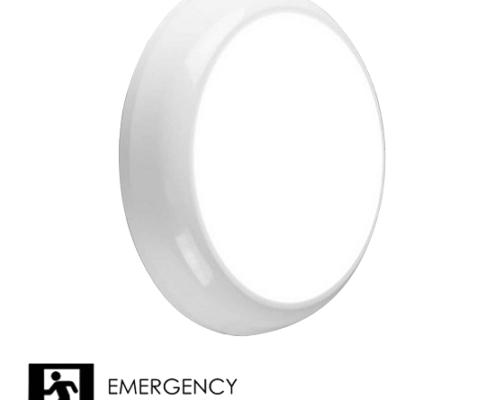 15W LED Emergency Bulkhead B1 IP65   TUBU