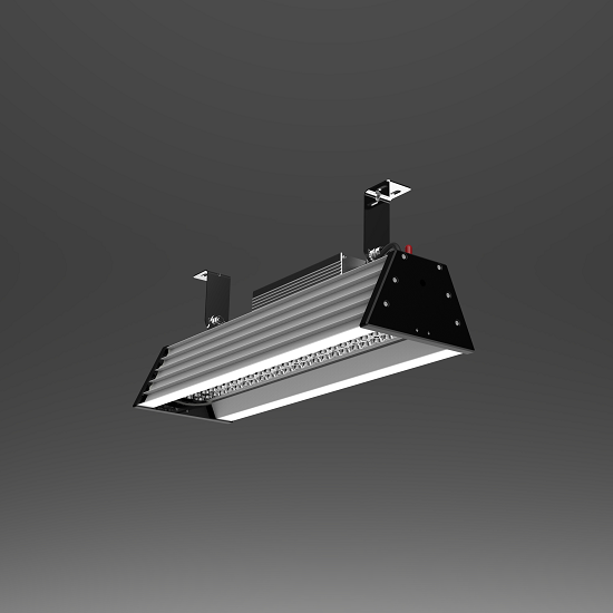 2ft 80W high ambient temperature hardware factory lighting led high bay | TUBU