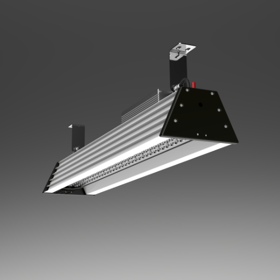 3ft 100W high ambient temperature steel factory lighting led high bay | TUBU