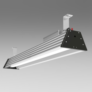 4 foot 200w 28000lm led high bay fixture 120-277v 347-480v | TUBU