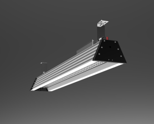 4ft 150W high ambient temperature led high bay 40° 60° 90° | TUBU