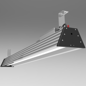 5ft 350W 48000lm LED High Bay comparable to 1000 watts   TUBU