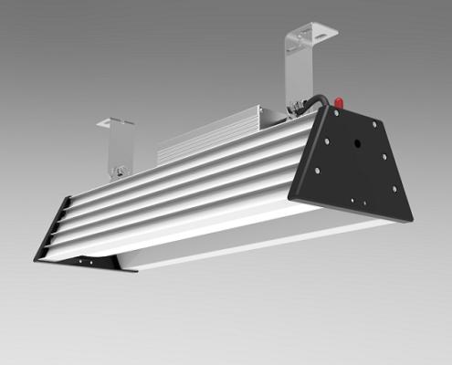 80w 2 foot LED high bay shop lights 122-277V | TUBU