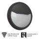 LED round Bulkhead fitting emergency and microwave sensor | TUBU