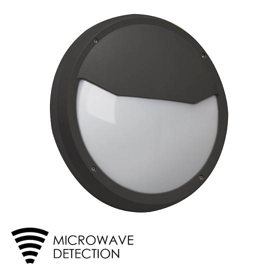 LED Bulkhead Light Exterior with microwave sensor | TUBU