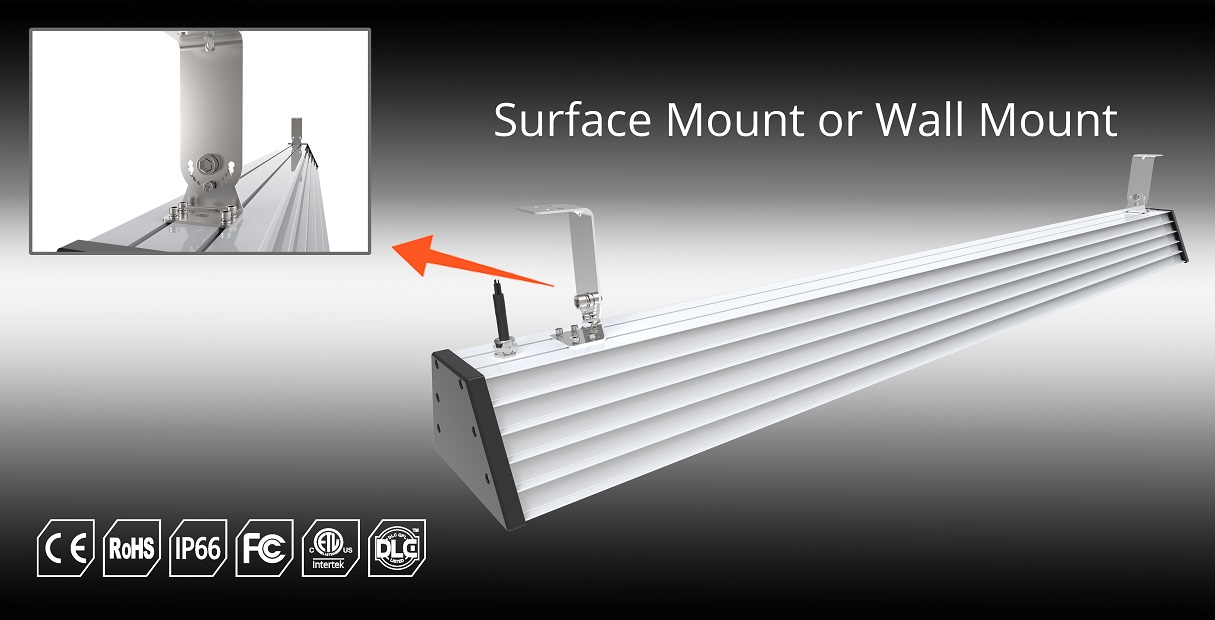 surface mount or wall mount led high bay | TUBU