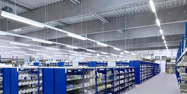 Warehouse-Industry application of anti-corrosive led linear fixtures