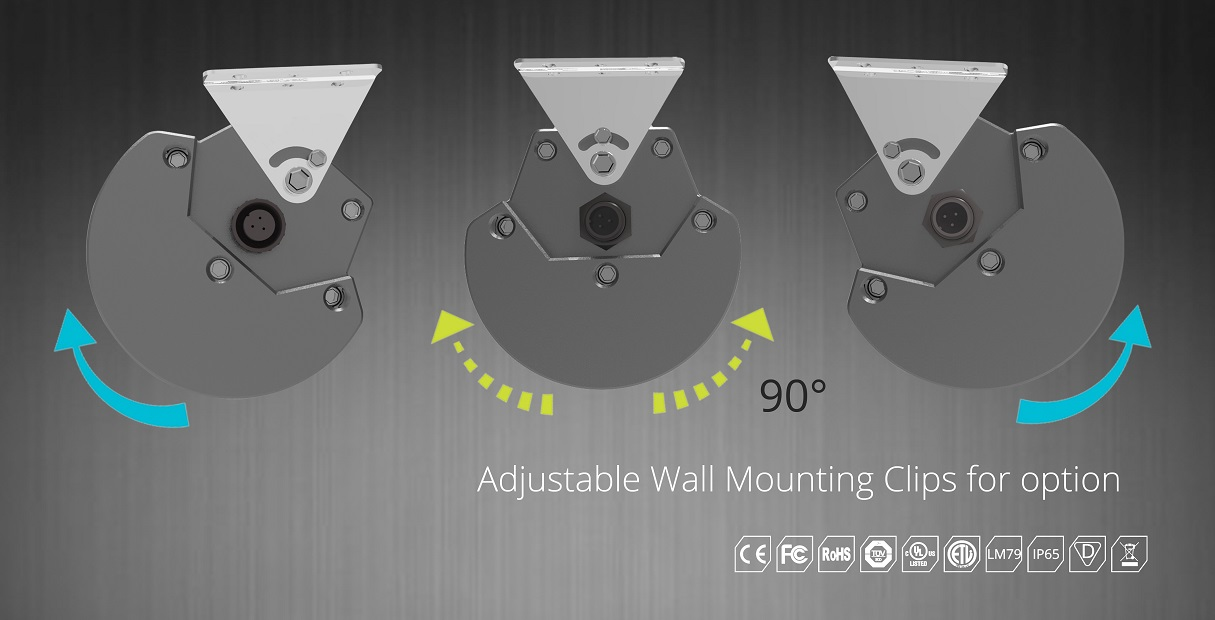 adjustable beam angle led low bay fixtures | TUBU