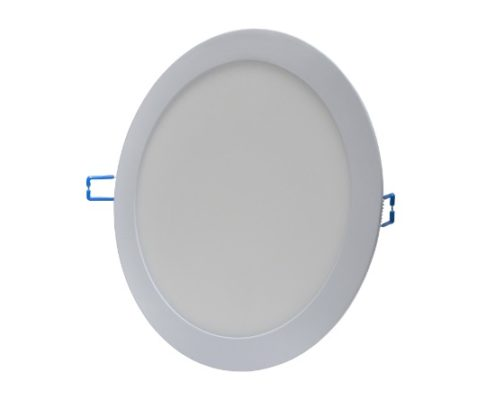 flat round led panel light