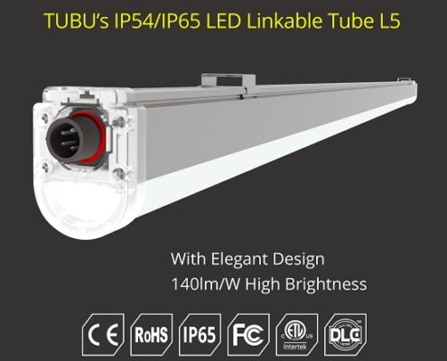 led vapor tight linear fixtures | TUBU