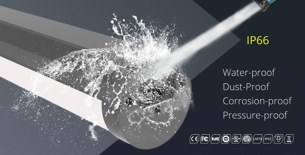 ip66 waterproof led low bay fixtures | TUBU