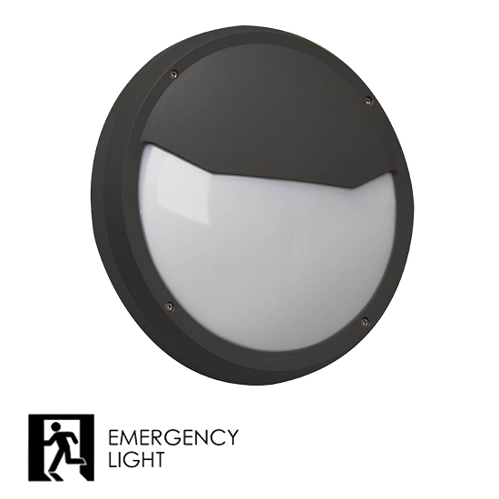 led Bulkhead Emergency Light B2 IP65   TUBU