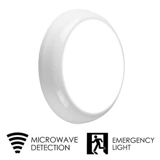 led bulkhead ip65 emergancy and microwave sensor | TUBU