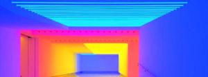 full spectrum light application
