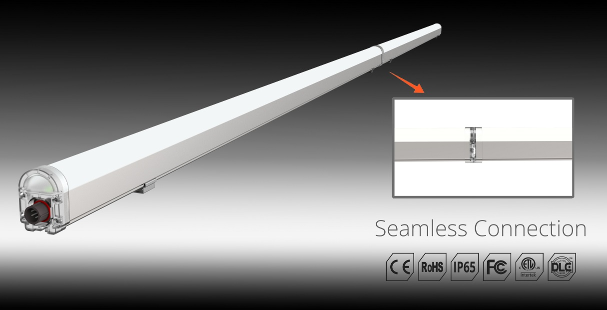 quick connect led linear fixtures