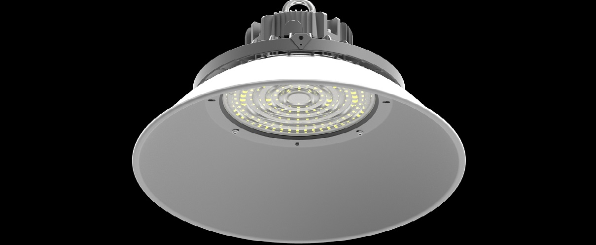 no glare ufo led high bay with pc cover