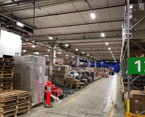 led linear high bay for warehouse