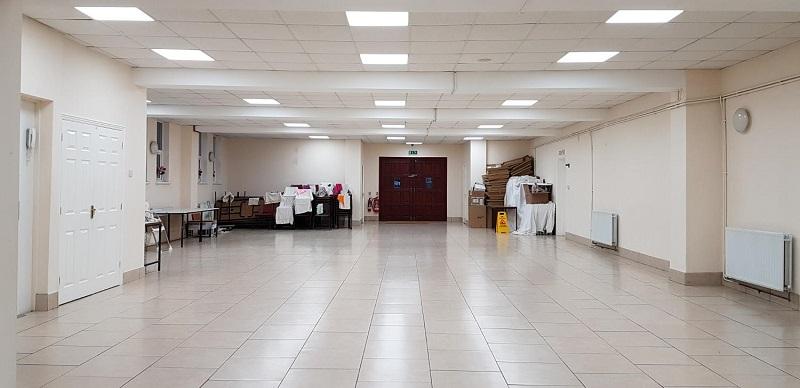 led panel light application for hospital