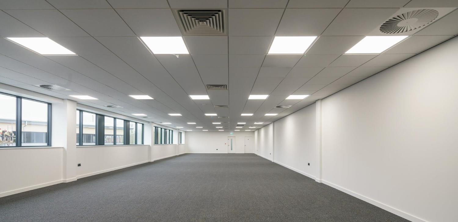 Commercial lighting application tubu ultra thin led panel light mozeypictures Gallery