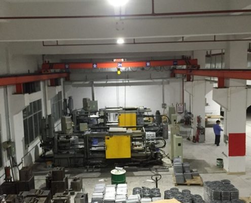 die-casting factory project with led high bay fixtures