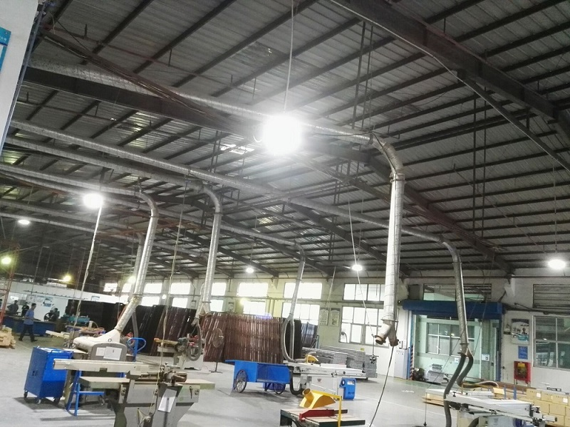 round led high bay application for high temperature area