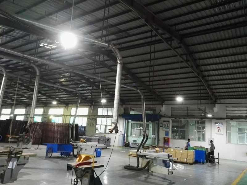 high bay luminaire application for factory in high temperature area