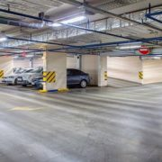 tri proof led application for parking lot