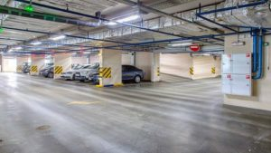 tri proof led application for parking lot