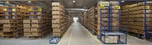 warehouse led high bay lighting application