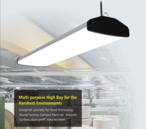 TUBU wide led high bay