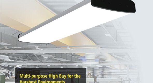 TUBU wide led high bay