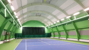 tennis court lighting design