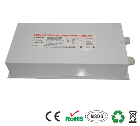 led high bay emergency lighting usage notice