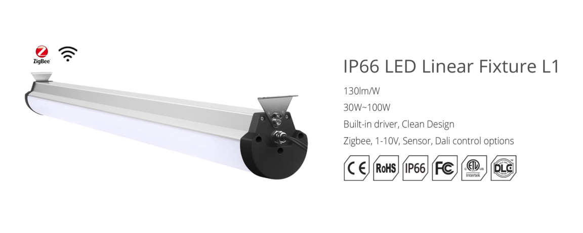 4 foot led vapor tight fixture 60w
