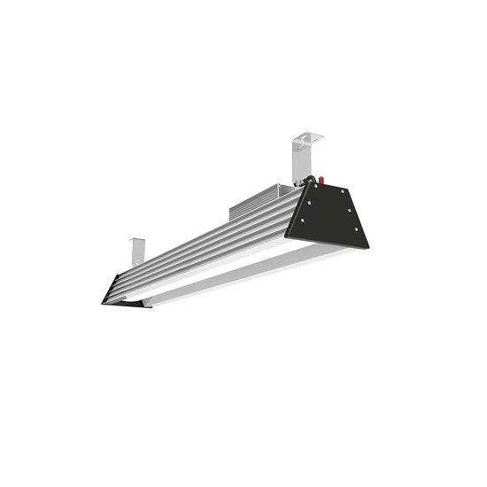 linear LED warehouse lighting fixture